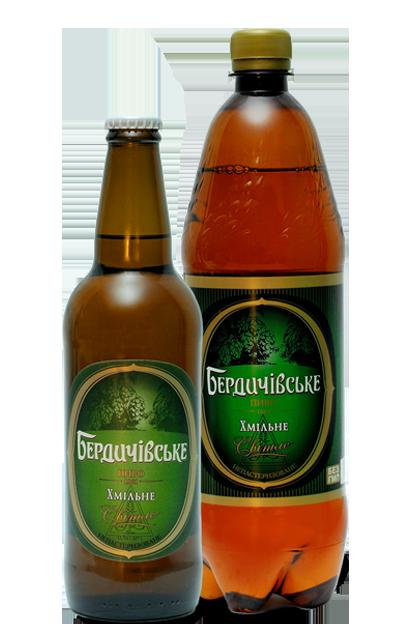 пиво бердичівське хмільне світле