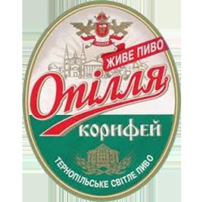 опілля корифей тернопільське світле пиво