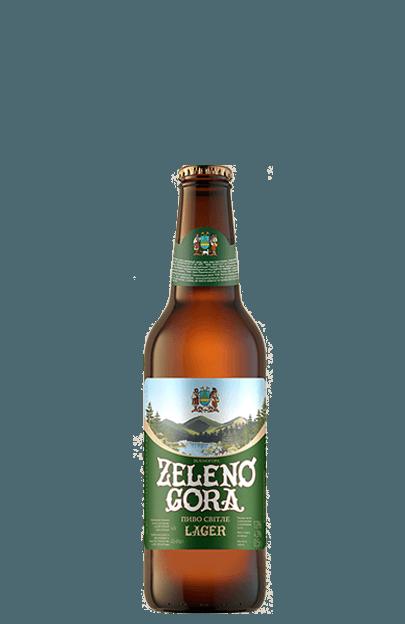 пиво світле zeleno gora lager