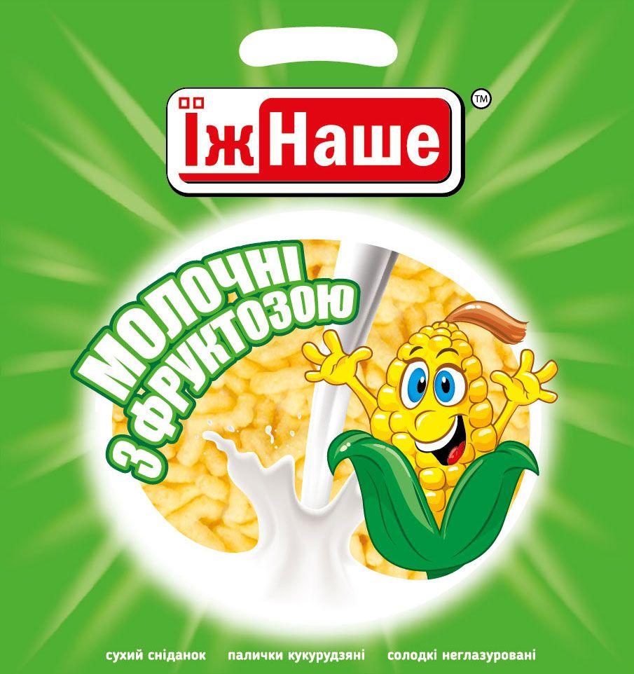 """Кукурудзяні палички """"Молочні з фруктозою"""""""