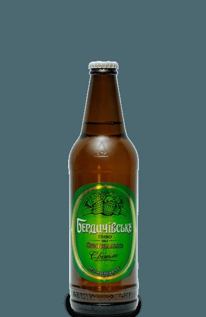 пиво бердичівське оригінальне світле