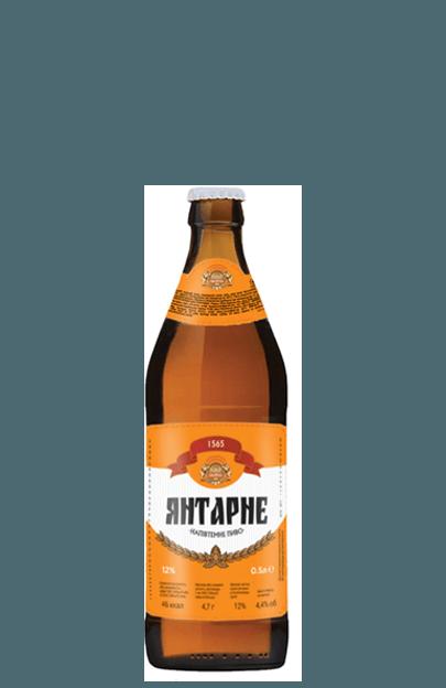 янтарне напівтемне пиво